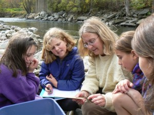 Help the WRP work with schools to create outdoor classrooms on the White River = $3,000.